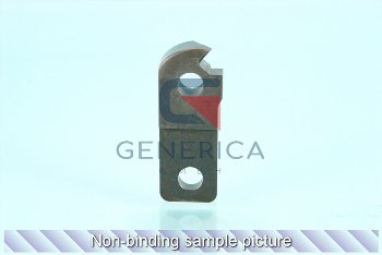 Lower blade left outer, Pos. 1004