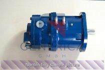 Druckluftmotor mit Getriebe (M410/400) AMTA 1